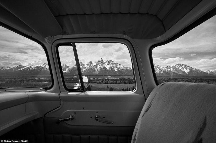 'After driving through Yellowstone park you come out to this beautiful view of the Teton mountain range' - BBS