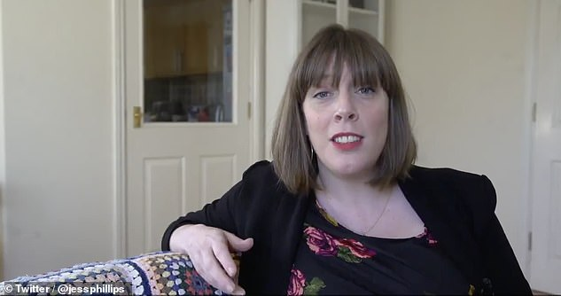 Unimpressed: Labour MP Jess Phillips (pictured) led some of the condemnation of Anthea's remarks this morning