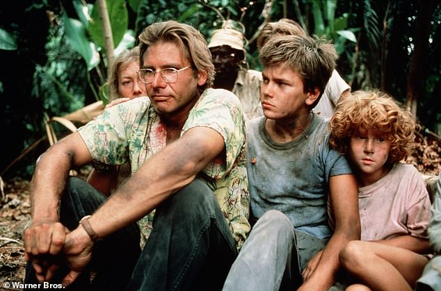 Modern classic: The show is a remake of the 1986 Peter Weir film The Mosquito Coast, which starred Harrison Ford in the lead role as an idealist who flees American culture to move his family to Latin America