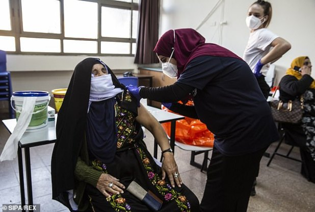 Vaccines are ongoing in Israel, which is seen as a leader in the fight against COVID-19.