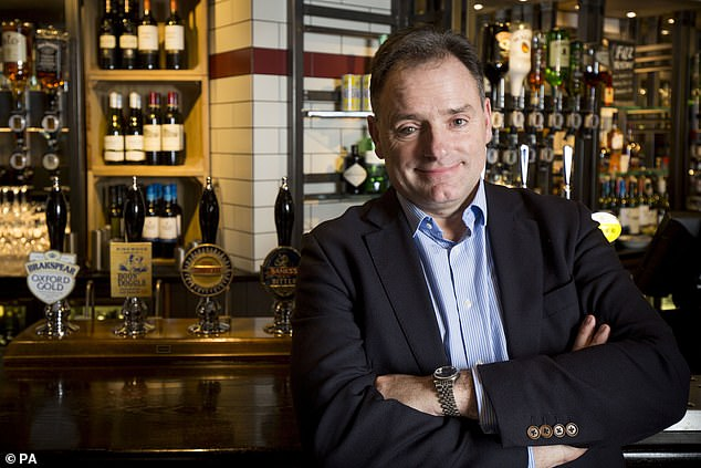 Marstons CEO Ralph Findlay had said reopening should happen 'sooner rather than later'
