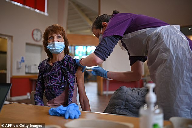 A leading academic has today said herd immunity could be a factor in the huge drop in Covid cases in the UK, as it was announced more than 17million Britons have now been vaccinated