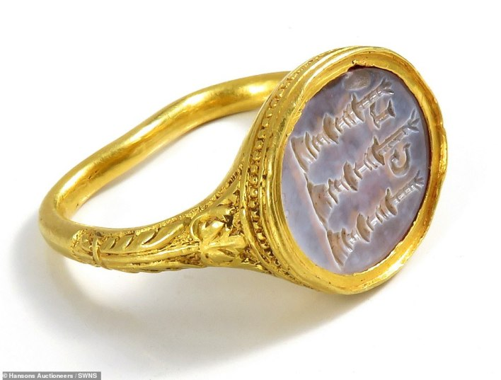 The stunning high carat gold jewellery was discovered by a metal detectorist in the grounds of a Grade II-listed Georgian manor house in the Peak District in 2018