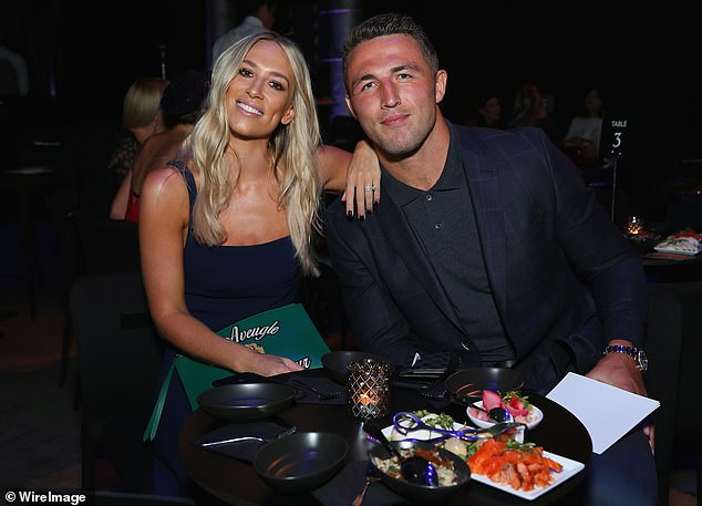 Burgess, pictured with ex-wife Phoebe in happier times, was sentenced to a two-year community corrections order and a two-year apprehended violence order just three weeks ago in relation to a separate matter
