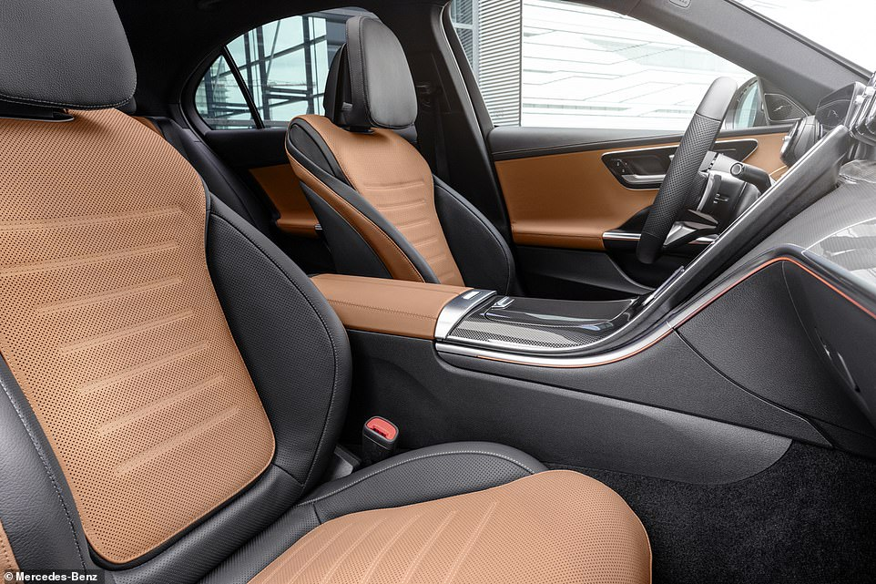 Beautifully sculpted front seats and upmarket materials means the Mercedes C-Class should lead the way in luxury when it comes to premium feel