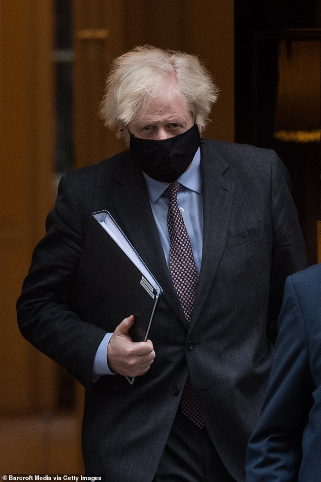 Boris Johnson gave a strong hint that the massive furlough scheme could be extended again today as he unveiled an ultra-cautious 'roadmap' for easing lockdown
