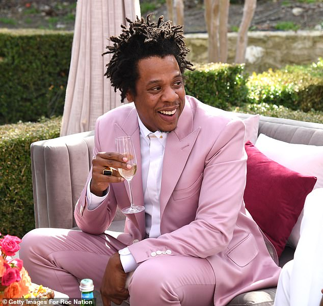 Expansion plan: Jay-Z said LVMH, which is making the investment through wine and spirits division Moet Hennessy, was a 'natural partner'