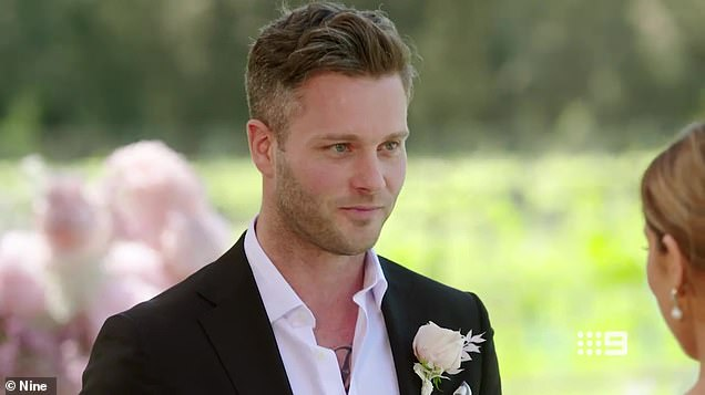 Complaint: A disgruntled Beck explained that she thought Jake had sexually objectified her as she walked down the aisle