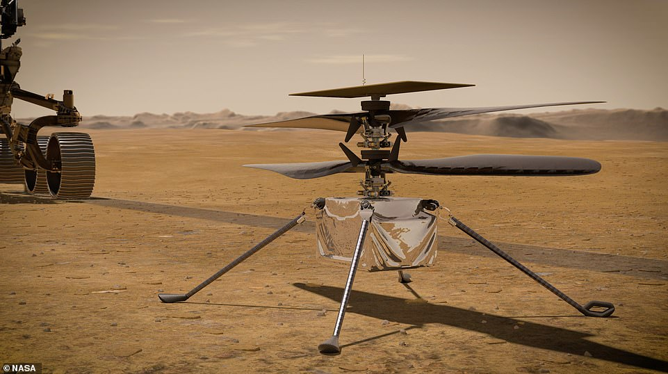 NASA also gave the world confirmation over the weekend that Perseverance's travel companion, the Ingenuity helicopter, is alive and well. Mission control in Southern California received the first status report from Ingenuity late on Friday via the space-based Mars Reconnaissance Orbiter