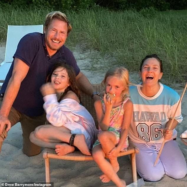 Family: Drew shares her daughters with ex-husband Will Kopelman from whom she split in 2016 after four years of marriage. The two have been amicably co-parenting Olive and Frankie ever since