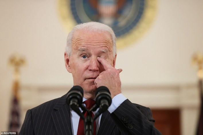 Personal knowledge: Joe Biden said he knew from his own experience the pain of grief being felt across America