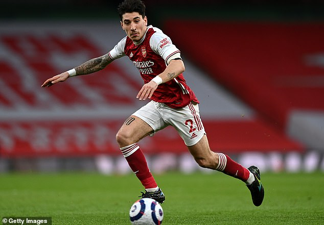 Paris Saint-Germain are keen to sign Hector Bellerin in the summer having had a bid rejected