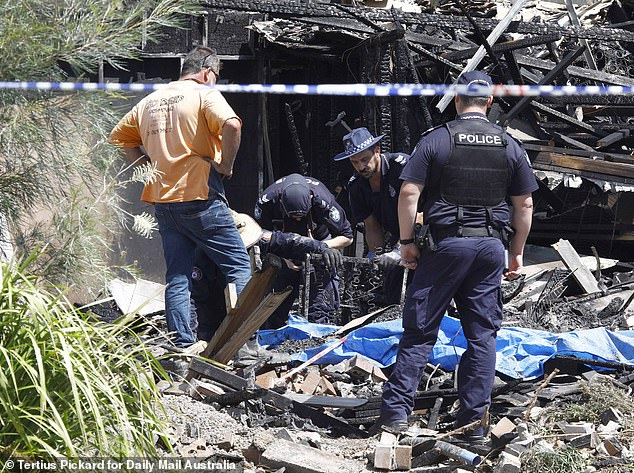 Investigations are underway to determine exactly how a 49-year-old man managed to get inside the estate, where two bodies were found in the rubble