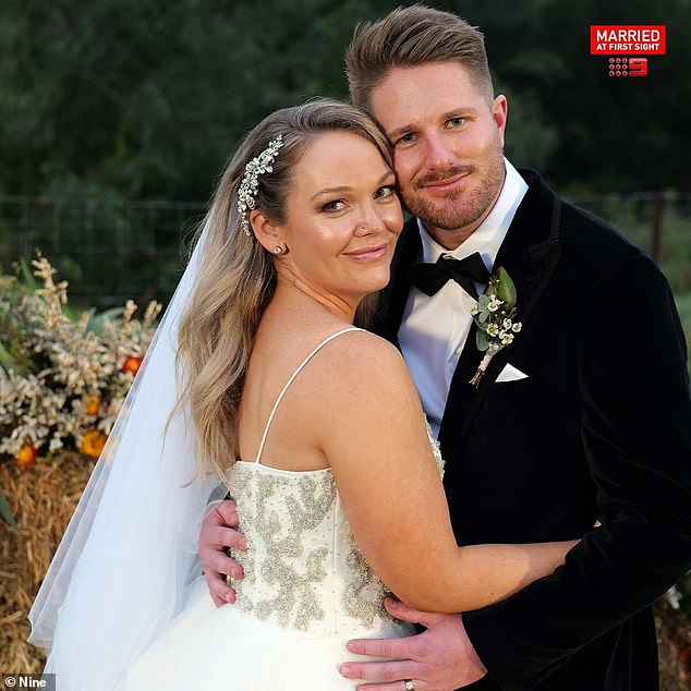 Will they last? Melissa and Bryce tied the knot on Monday's episode of Married At First Sight