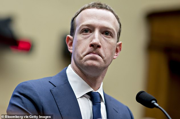Facebook has advised the government it will restore Australian news pages 'within the coming days'. Pictured: CEO Mark Zuckerberg
