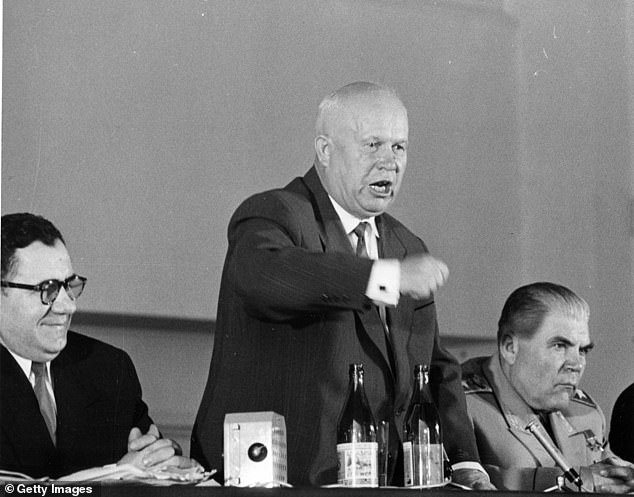 Kruschev, who led the USSR from Stalin's death in 1953 to 1964, reportedly ordered JFK's death