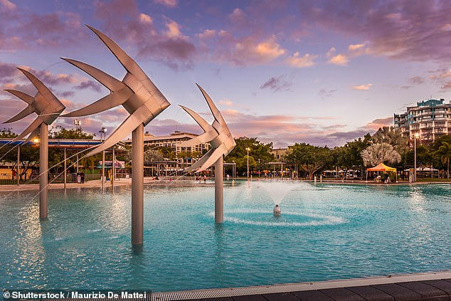 1. Cairns, Queensland: Cairns has been crowned the number one town in Australia of 2021