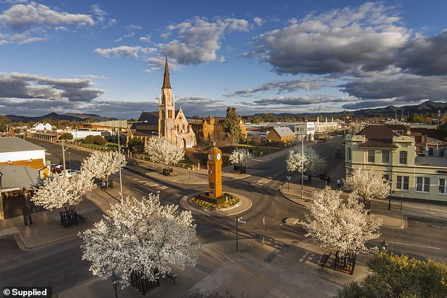 4. Mudgee, New South Wales: It's known as one of the country's finest wine towns in Australia