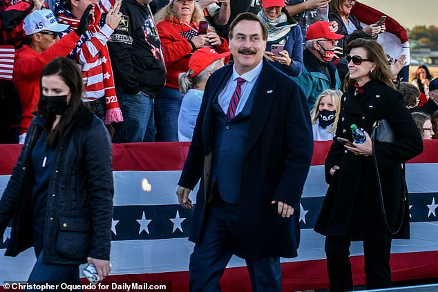 Mike Lindell was sued by Dominion Voting Systems on Monday and is facing a boycott