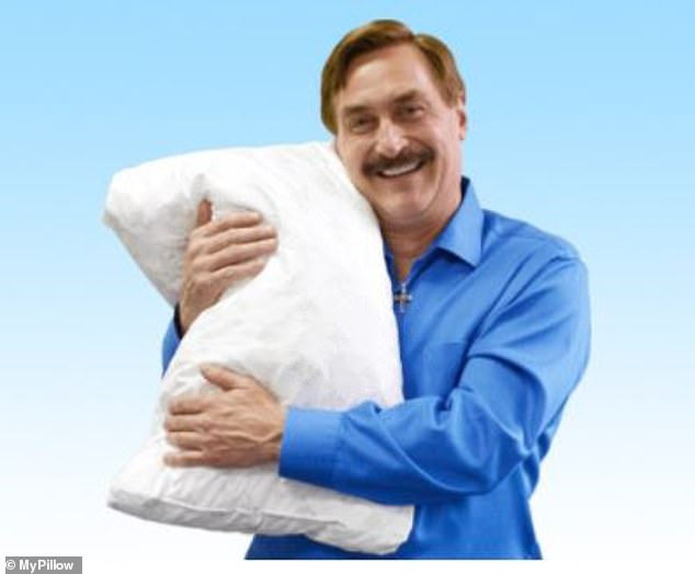 Lindell advertises his company, MyPillow, extensively on cable news channels