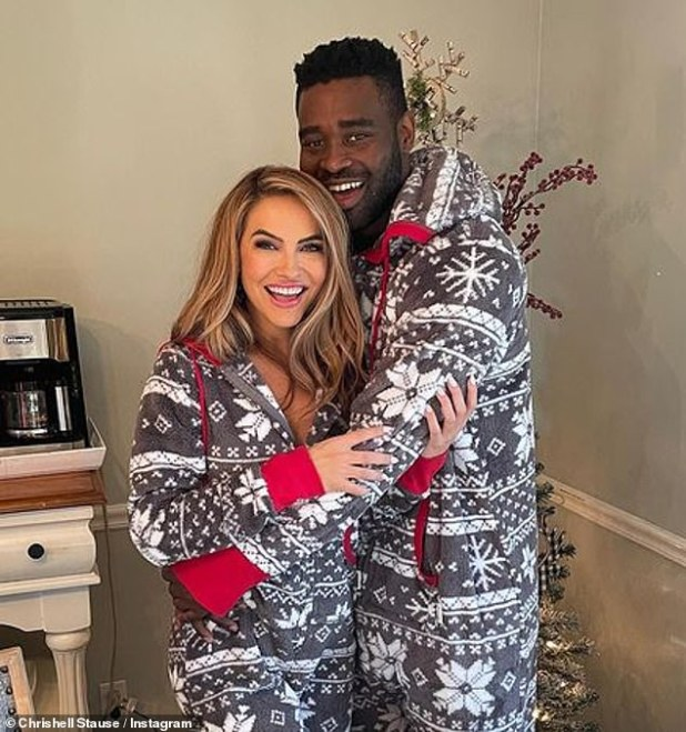 Big crush: Meanwhile, after his stint with Dancing With The Stars, Chrishell struck up a relationship with 31-year-old professional dancer Keo Motsepe.
