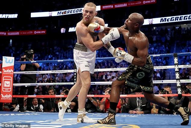 McGregor solo ha peleado en el ring de boxeo una vez, en una derrota ante Floyd Mayweather en 2017.
