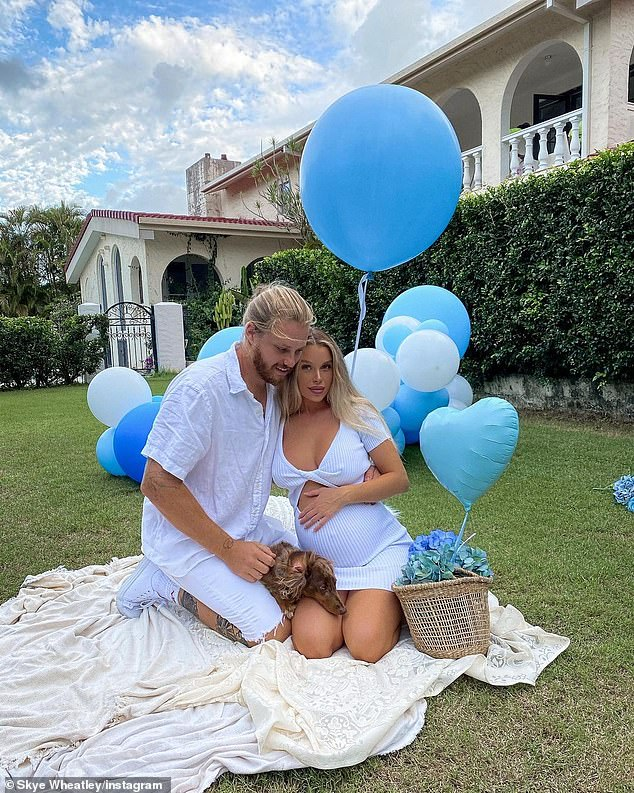 It's a boy!  Earlier this month, the mother-of-one revealed if she has a boy or a girl in a cute gender reveal clip