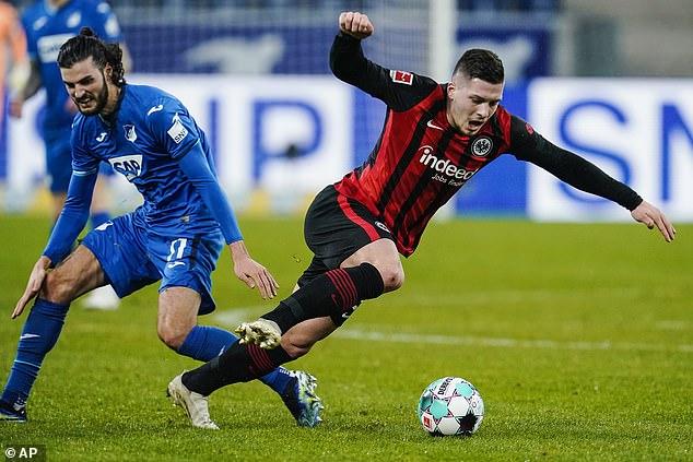 Frankfurt may want to sell Silva to raise funds to buy back Real Madrid forward Luka Jovic