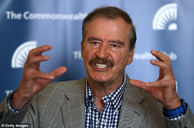 Former Mexican President Vicente Fox took a swipe at President Andrés Manuel López Obrador on Monday moments after Joaquín 'El Chapo' Guzmán's wife Emma Coronel was detained by federal agents at Dulles International Airport in Virginia. Fox tweeted: 'Don't worry Emma, The president will come to the rescue!! US detains Emma Coronel, El Chapo's wife, for drug trafficking'