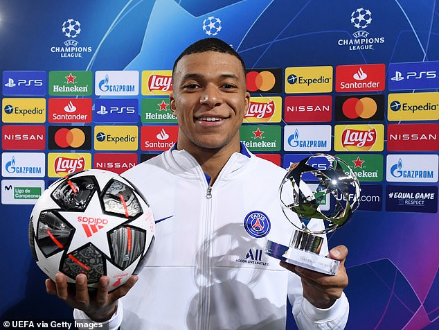 Kylian Mbappe stunned Barcelona last week by scoring a hat-trick at the Nou Camp for PSG