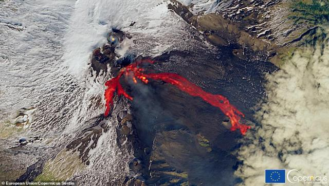 Some said Monday's eruption - that continued into the early hours of Tuesday - was the most powerful during its recent burst of activity, with one expert saying an eruption of its kind had not been seen for decades at Etna