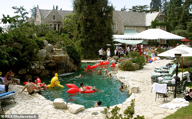 Hefner lived in the Mansion in Los Angeles from 1973 until his death in 2017 where he was famed for his debauched parties
