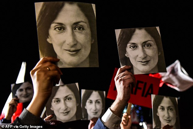 The murder of Caruana Galizia sparked international outrage and protests that forced prime minister Joseph Muscat to resign