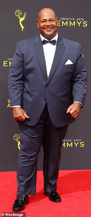 From old to new: the role will now be played by black actor Kevin Michael Richardson;  seen in 2019