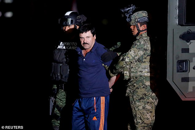 El Chapo is serving a life sentence at a maximum security jail in Colorado