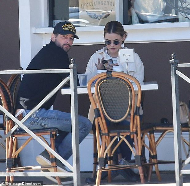 Relaxed: It is not known how long the actors have been dating, but they seemed very happy in each other's company.
