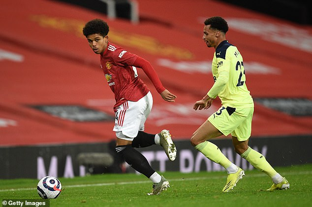 United signed the 10-year-old and, earlier this month, he agreed his first professional contract
