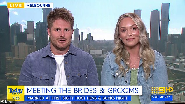 Opinions: Married At First Sightnewlyweds Melissa Rawson and Bryce Ruthven seem to think some of their co-stars are more interested in gaining Instagram followers than finding love