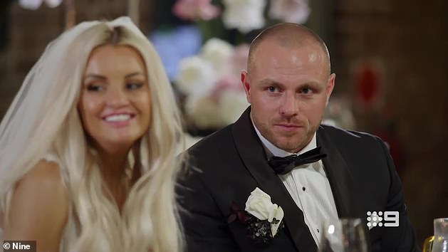 Will they last? The glamorous blonde was paired with tradesman Cameron Dunne on Tuesday's episode of Married At First Sight, and the couple appeared to get on famously