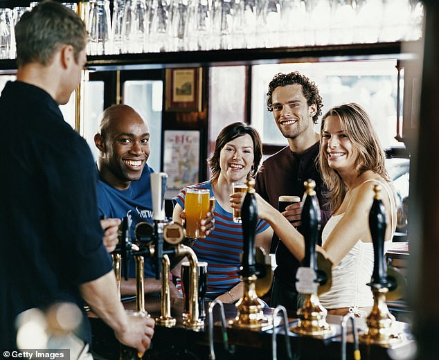 A mobile phone app could serve as a Covid ¿passport¿ to enter pubs and theatres under plans being considered by Boris Johnson (stock photo)