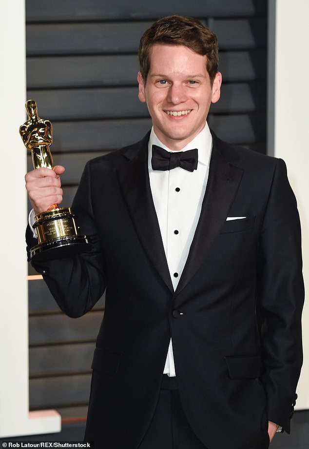 Man of words: The Outfit will mark the directorial feature debut of Oscar-winning screenwriter Graham Moore who co-authored the screenplay with Johnathan McClain