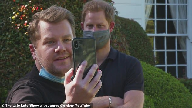 James has been close friends with the Duke of Sussex, 39, for a decade, with the presenter previously revealing they met 'out and about' in London