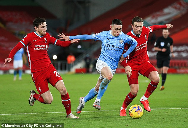 Foden has been one of Manchester City's stars as they near another Premier League title