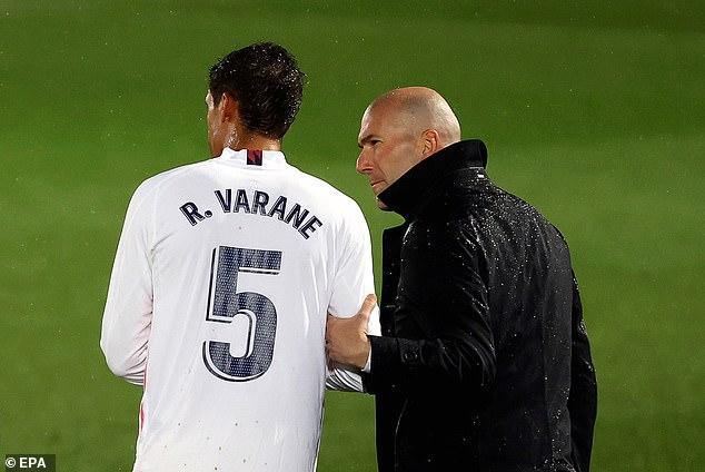 Varane was considering his future in 2019 before the return of compatriot Zinedine Zidane