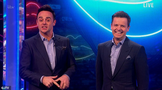 Oh my: Saturday Night Takeaway hosts Ant and Dec were forced to apologize after Gordon Ramsay swore live on air, just 11 minutes from the show