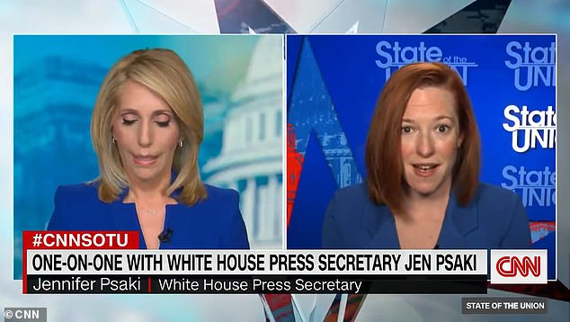 White House Press Secretary Jen Psaki (right) told CNN on Sunday that President Joe Biden wants an investigation into sexual assault and harassment claims against New York Governor Andrew Cuomo
