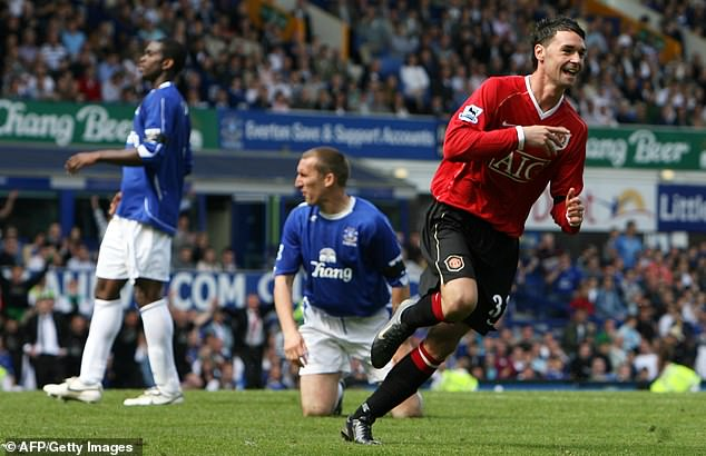 Eagles (right) went on to play just 17 games for United while Keane won seven Premier Leagues