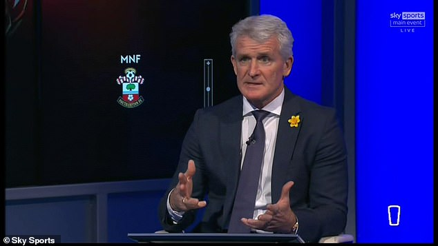 And Hughes believes Cavani's age and the lack of other options should force United's hand