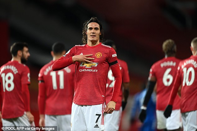 Mark Hughes has urged Manchester United to sign a striker, after claiming they signed 'outstanding' Edinson Cavani five years too late