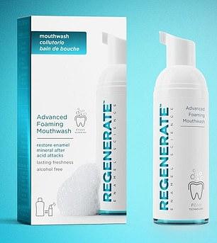 Enjuague bucal espumoso avanzado Regenerate Enamel Science, £ 10 por 50 ml, la mayoría de las farmacias